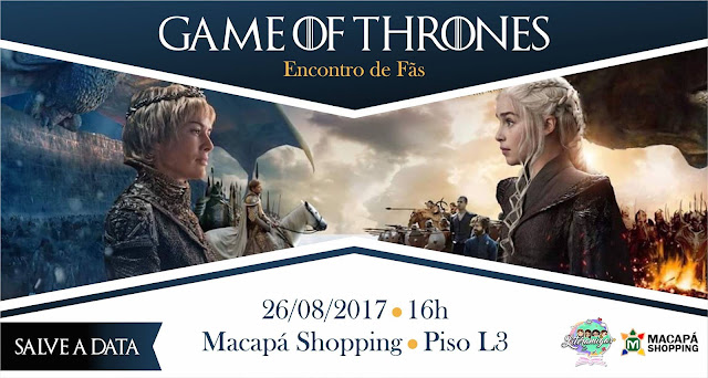 "O canal Literamigas organiza o ""Encontro de fãs de Game of Thrones"""