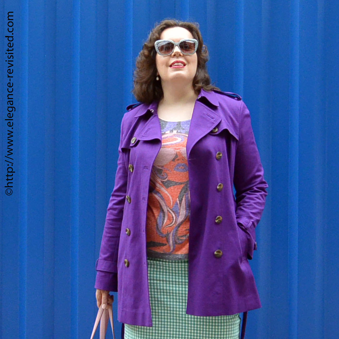 how to wear color over 50
