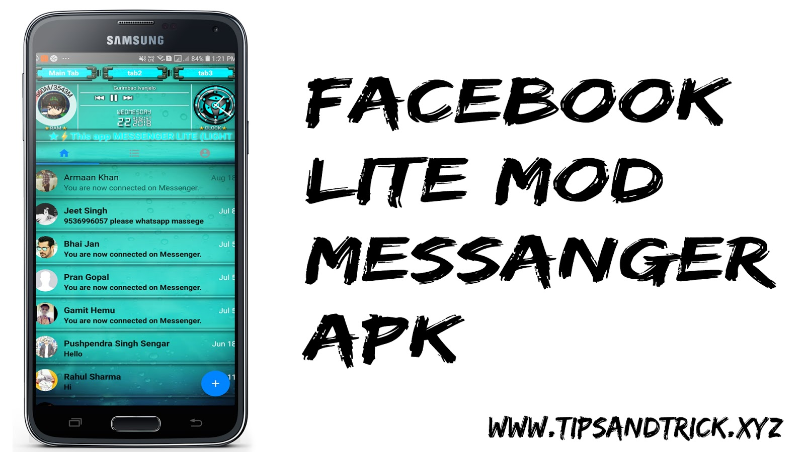Free Facebook Lite Messenger Mod APK Download For Android