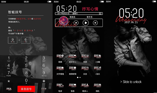 Ghotic Metal Theme For Vivo Smartphone
