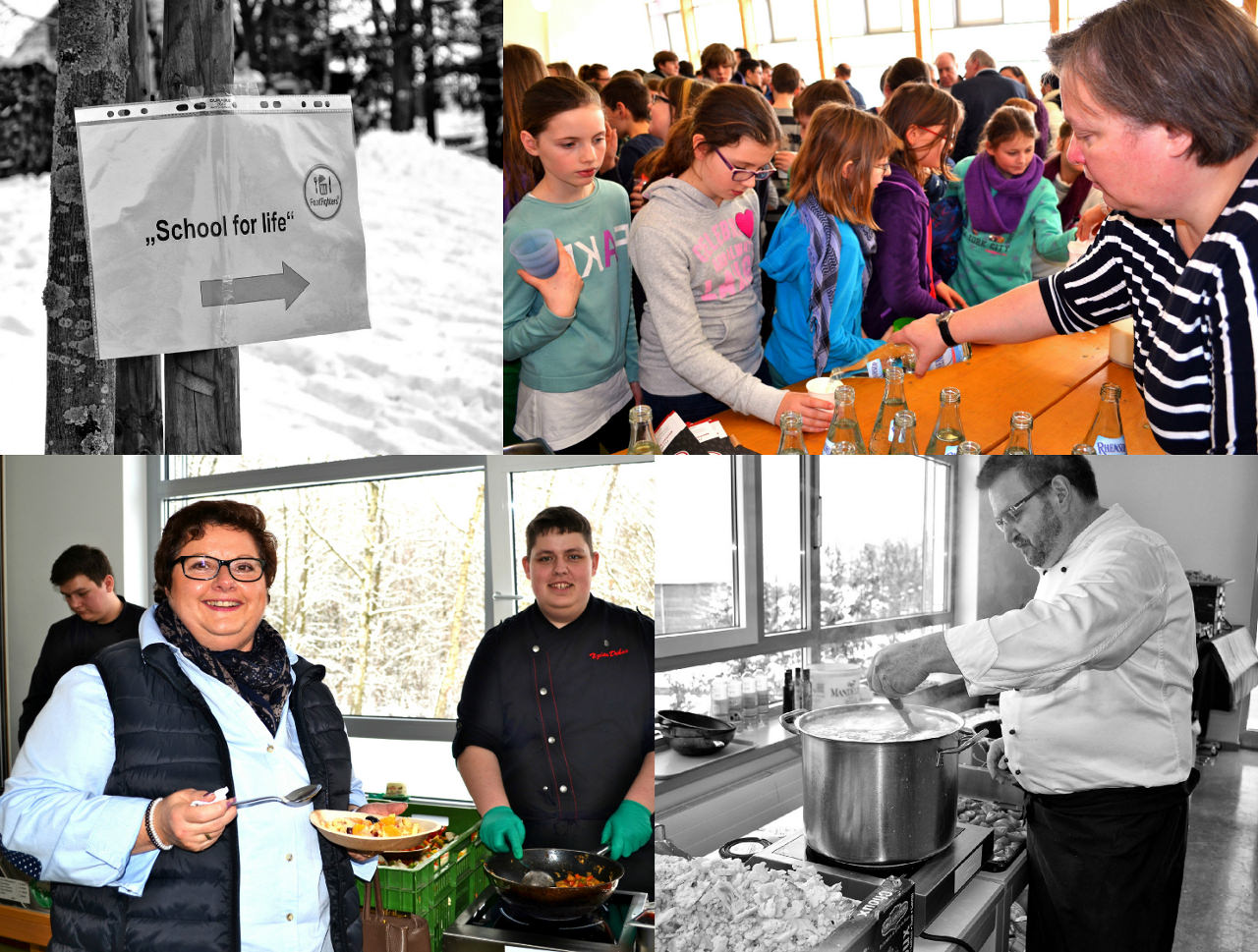 FoodFighters-Aktion School For Life in Emmelshausen.