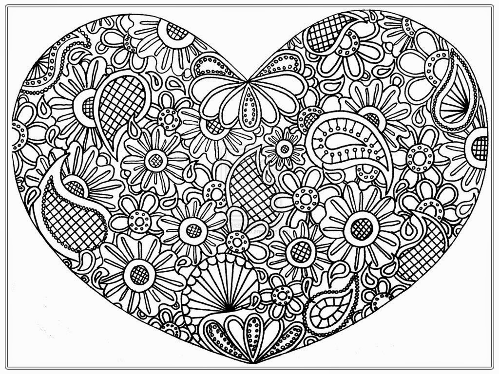 large coloring pages for adults - photo#10