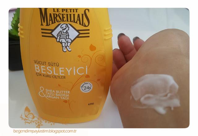Le Petit Marseillais besleyici vücut sütü