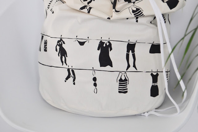 Laundry bag, Eulala c'est chic, Bobbinhood, screen printing