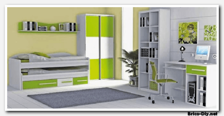 Como decorar dormitorios con muebles de melamina y mdf for Diseno muebles de dormitorio