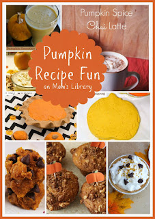 Pumpkin Recipe Fun on Mom's Library