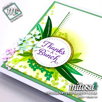 Stampin' Up! Beautiful Bouquet with Swirly Frames SU Card Idea order from Mitosu Crafts UK Online Shop