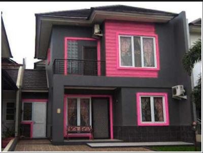 Desain Rumah Nuansa Pink Yang Cantik 2