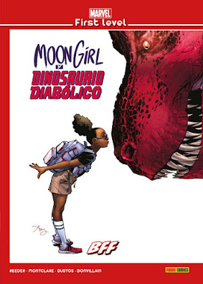 "Comic: Review de ""Moon Girl y Dinosaurio Diabólico"" Vol.1 de Amy Reeder, Brandon Montclare y Natacha Bustos - Panini Comics"