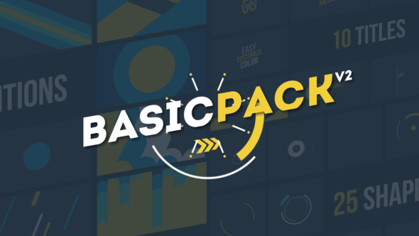 Basic Pack Videohive - Free Download After Effects Templates — Desymbol