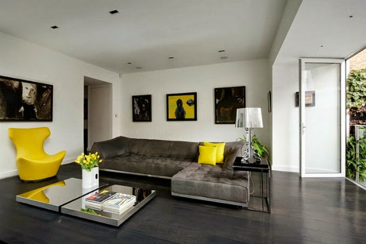 Trendy Modern Living Room Decorating Ideas And Wall Decor 2015