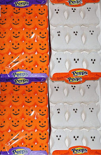 Peeps Ghosts and Pumpkins for Halloween Treats