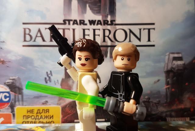 Lego Star Wars Battlefront, Luke SkyWalker, Leia Organa