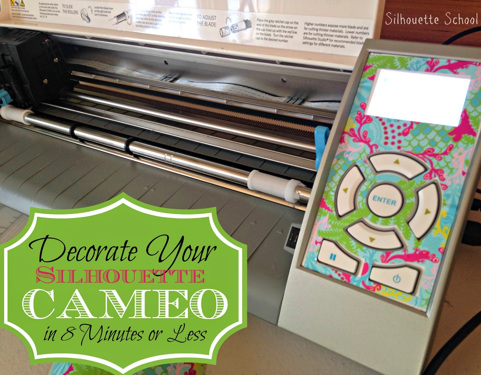 Silhouette Cameo, decorate, Silhouette tutorial, DIY, do it yourself