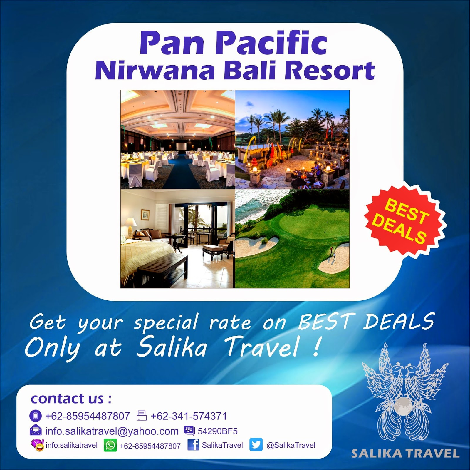 Pan Pacific Nirwana Bali Resort - Salika Travel