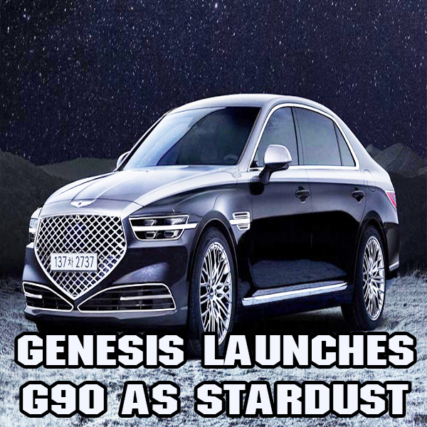 Genesis launches a special version of its G90 as Stardust