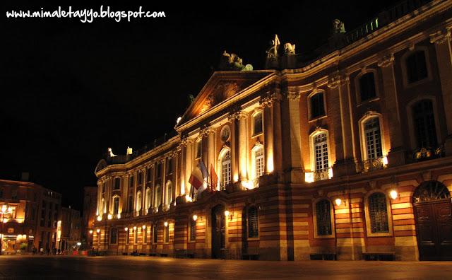 Plaza del Capitolio de Toulouse