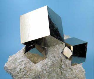 forma cristalografica cubica pirita - foro de minerales