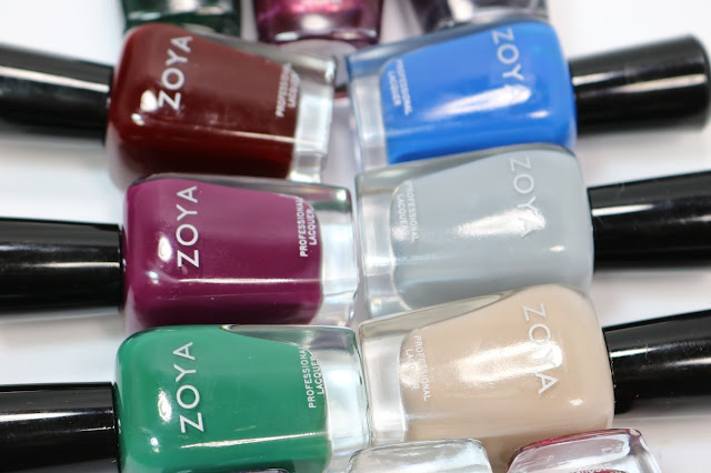 Zoya Fall 2016 Urban Grunge Collection