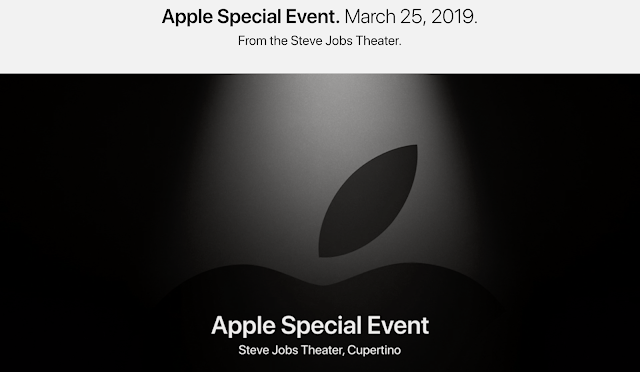 Apple Special Event. March 25, 2019