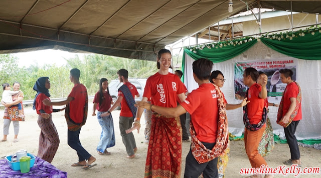 Clean Water for Communities, New Water Supply System, Kampung Mempakad, Sabah, Raleigh International, Coca-Cola