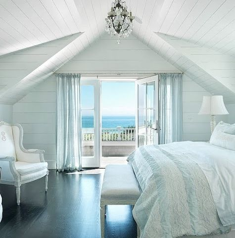 Master Bedroom with an Ocean View