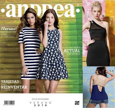 catalogo de ropa andrea verano 2016