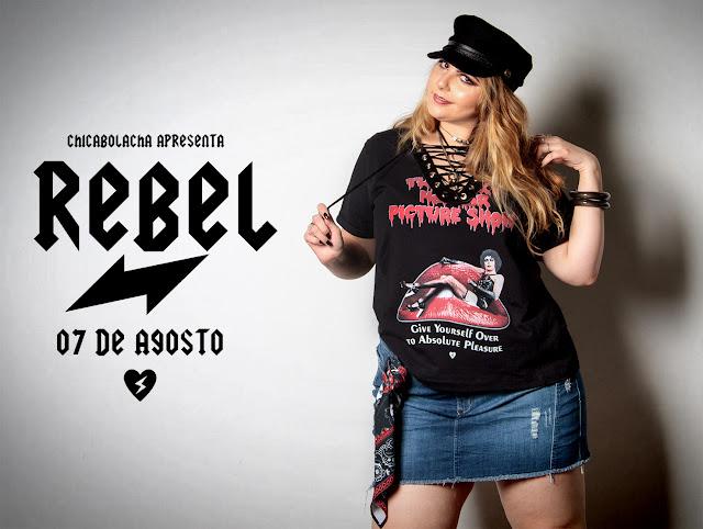 Nova coleção Chica Bolacha - REBEL! Dia 07-08-17