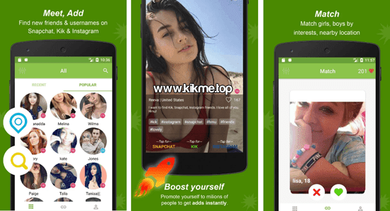 K Friends for Kik Messenger para Android