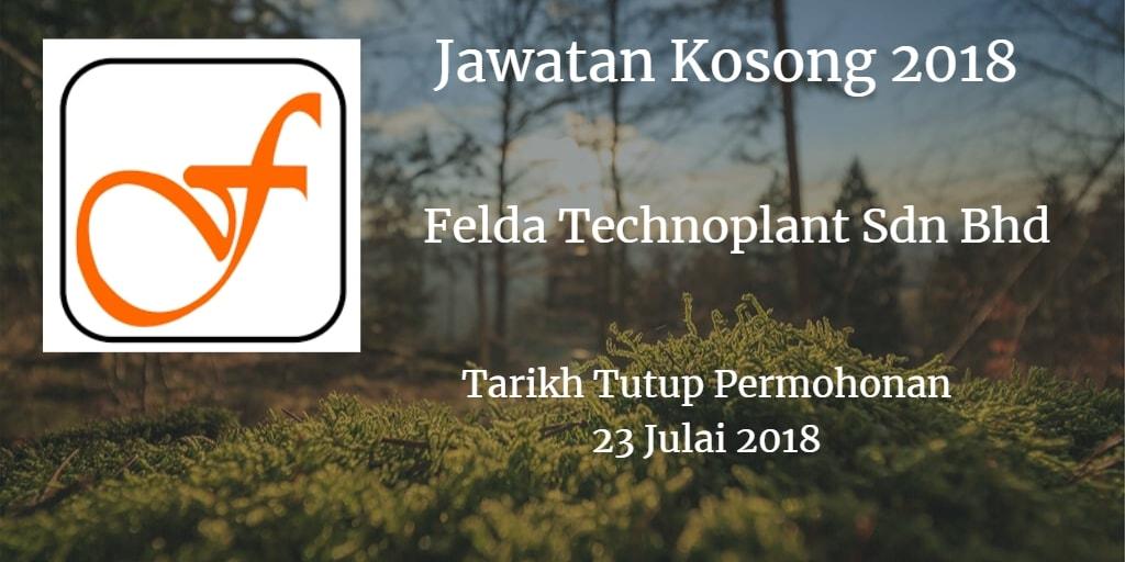 Jawatan Kosong FTPSB 23 Julai 2018