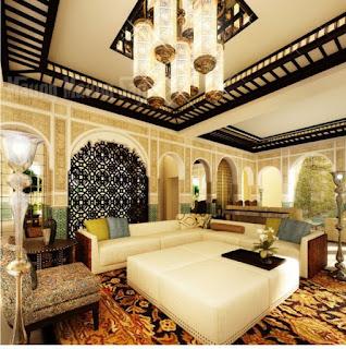 ديكورات المنزل المغربي بالصور 2017