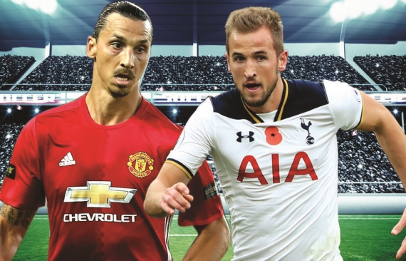 Man United will look to end their run of three consecutive draws when they host Tottenham on Sunday.