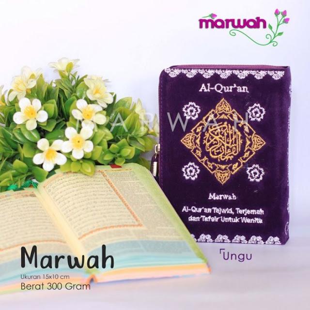 Alquran Wanita Marwah Ungu