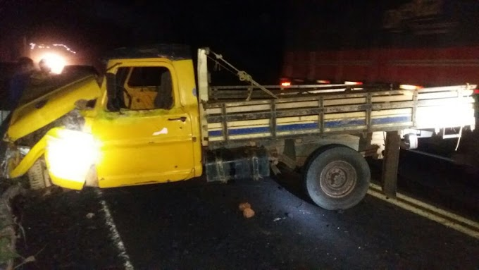 Criança de 8 anos morre em grave acidente na BR-230, entre São Domingos e o Povoado Santa Teresa