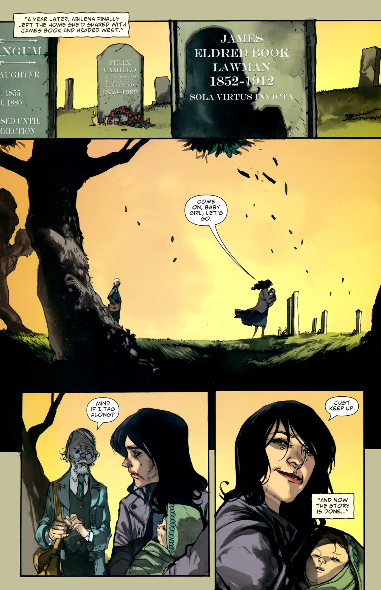 Read online American Vampire comic -  Issue #5 - 31
