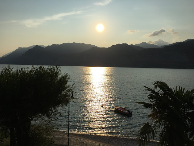 Sonnenuntergang am Gardasee