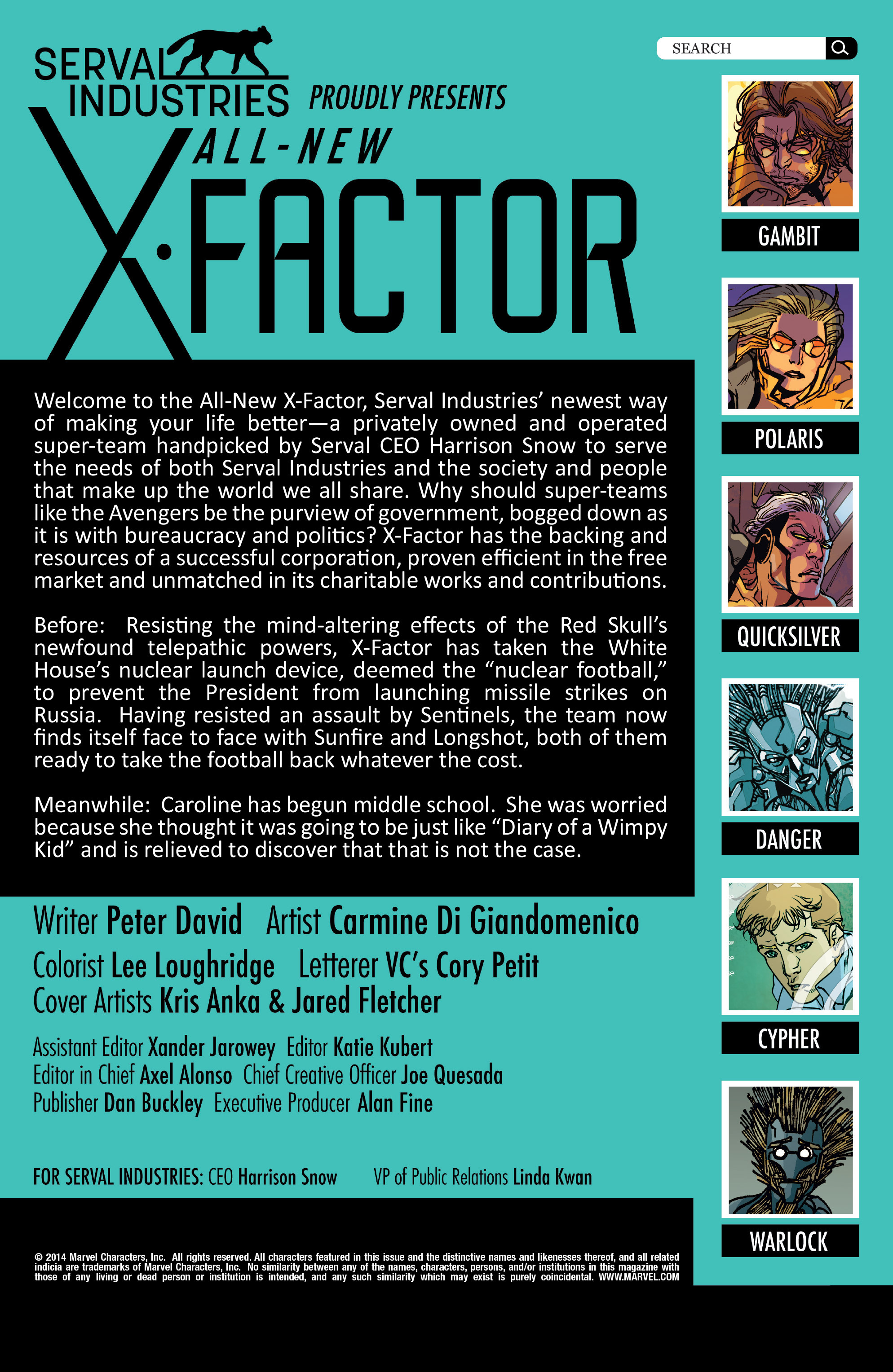 Read online All-New X-Factor comic -  Issue #17 - 2