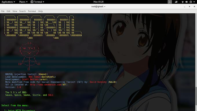 BBQSQL A Blind SQL Injection Exploitation Tool di GNU/Linux
