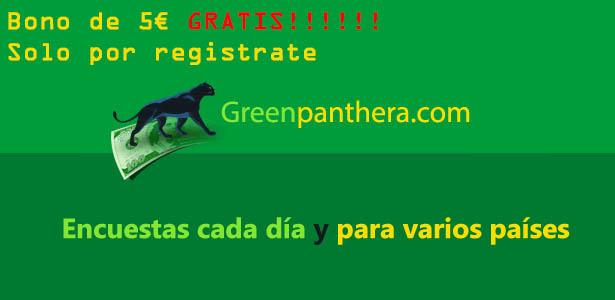 greenpanthera gana dinero con encuestas