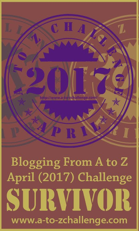 A to Z blogging challenge 2017