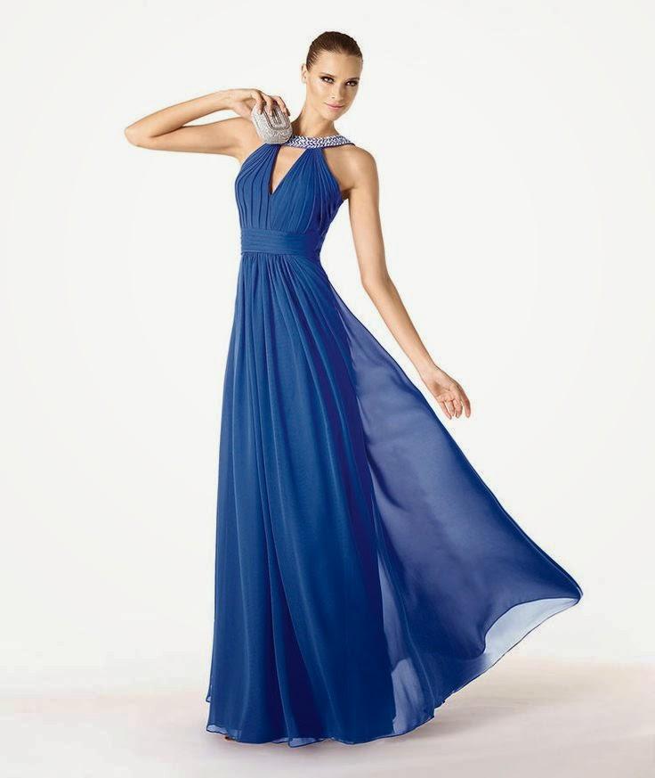 7f384ff52018f Mavi Abiye Elbise Modelleri