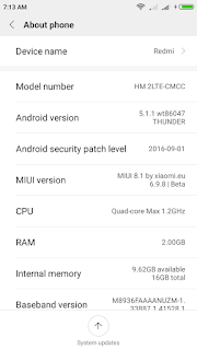 How to Upgrade Xiaomi Redmi 2/ Prime to MIUI 8