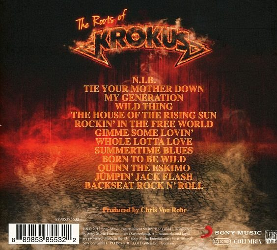 KROKUS - Big Rocks (2017) back
