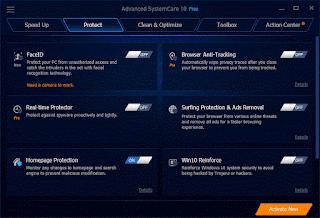 برنامج الرعاية الشاملة Advanced SystemCare