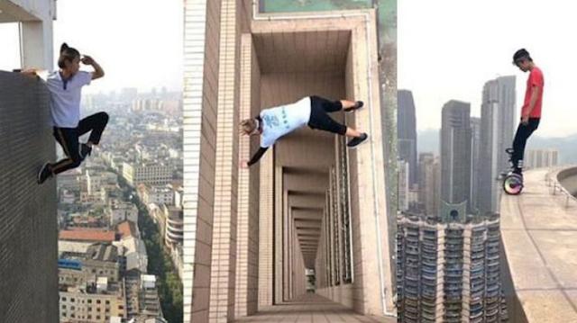 Merinding..!! Ini 6 Fakta Tewasnya Rooftoper dari Gedung 62 Lantai, Nomor 5 Bikin Air Mata Menetes