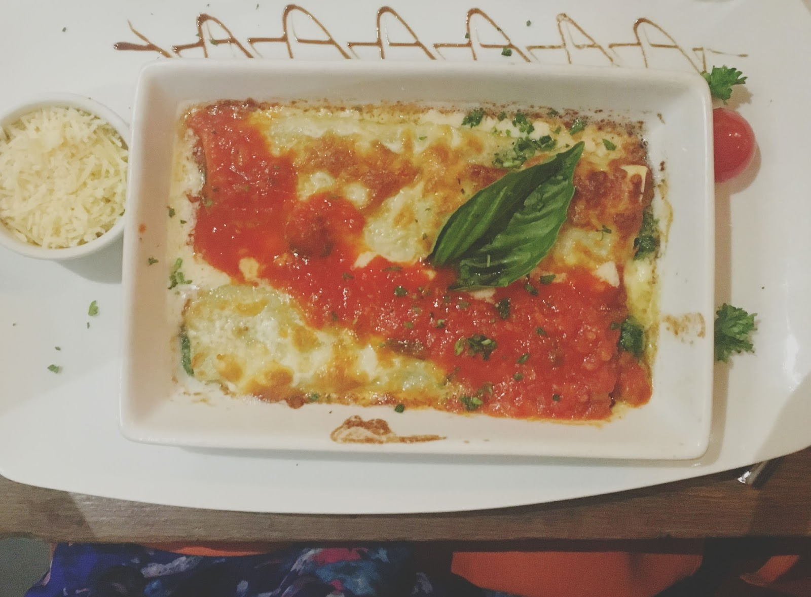 cannelloni at Sal y Pimienta - A South American restaurant in Houston