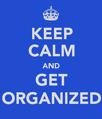 Poster - Keep Calm and Get Organized
