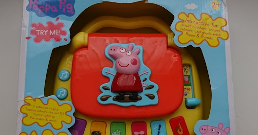 Peppa's Laugh and Learn Laptop - Review & Giveaway