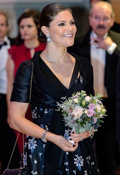 Crown Princess Victoria wore Erdem x H&M Dress - Designer Collection