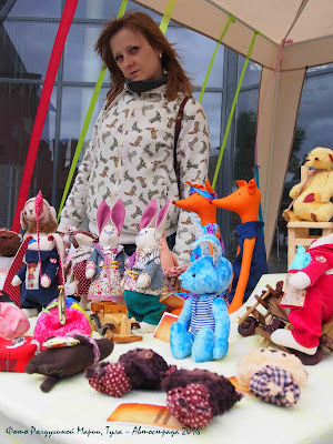 Ролдугина Мария игрушки ручной работы